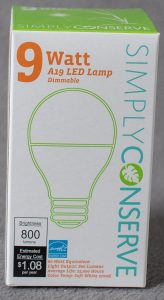 9 watt LED