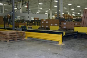 guard rail for manufacturing belt