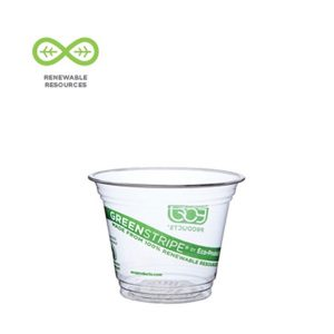 GreenStripe® Renewable and Compostable Cold Cups
