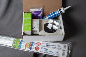 Energy efficiency home kit